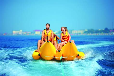 banana boat ride fall top 5 water sports that even non swimmers can enjoy in dubai