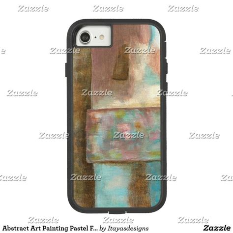 Casing Iphone 6 6s Banana Graffitti Soft abstract painting pastel castle window