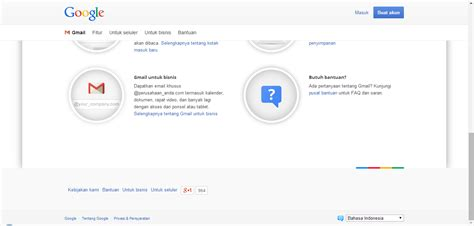 cara membuat email gmail bahasa indonesia cara membuat email baru daftar gmail login indonesia catatan