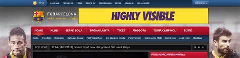 barcelona bahasa indonesia website resmi klub sepakbola dunia bahasa indonesia