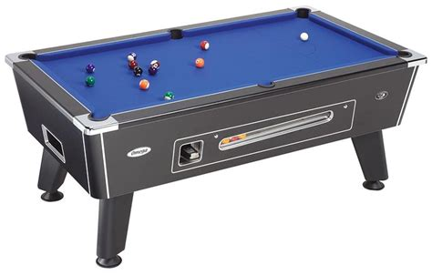 easy snooker coin operated pool tables