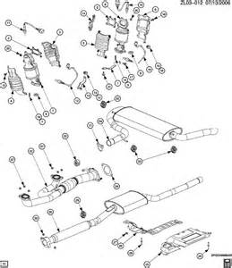 Saturn Exhaust System Parts 2004 Saturn Vue Exhaust System