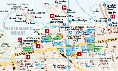 hotels in san francisco map map of san francisco hotels michigan map