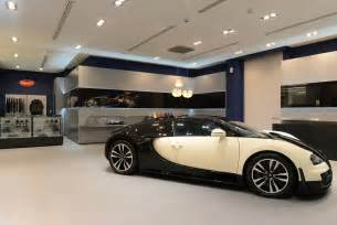 Bugatti Showroom Bugatti Opens New Showroom In Qatar Gtspirit