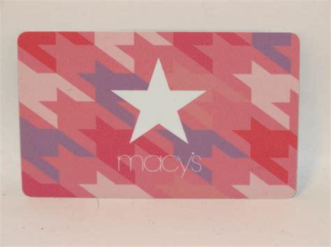 Gift Card Balance Macys - macys gift card stars zero balance