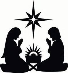 imagenes de siluetas del nacimiento de jesus geburt christi silhouette and silhouette onlineshop on