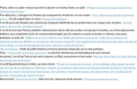 born definition of borne la d 233 finition