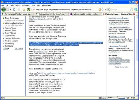 craigslist posting templates how to use the free we buy houses craigslist ad
