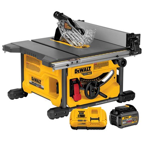 dewalt table saw dado blade dewalt flexvolt 60 volt max lithium ion cordless brushless