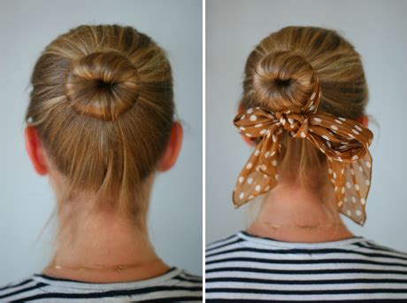 diy sock bun for hair diy sock bun say yes