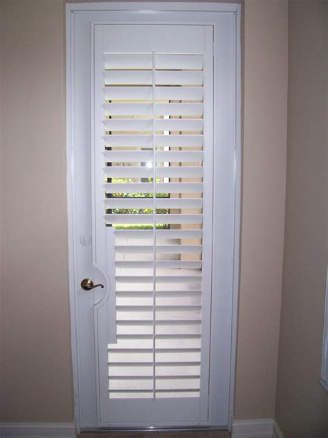 Plantation Shutters On Doors shutters doors patio door shutter images