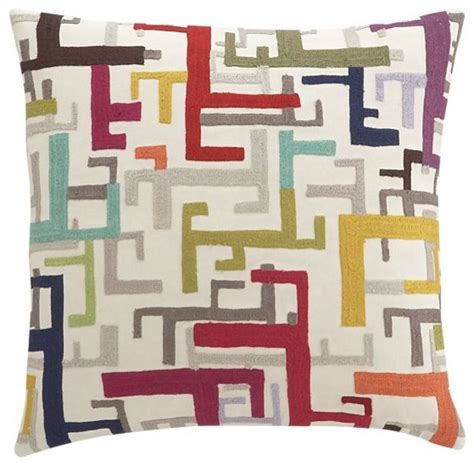 zenith home and garden decor zenith pillow contemporary decorative pillows