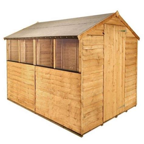 Shed Deals Uk by Billyoh 8x6 Wooden Shed With Base 163 173 49 Garden