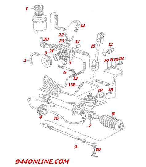 electric power steering 1994 porsche 968 spare parts catalogs porsche 968 parts diagram porsche auto wiring diagram