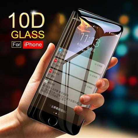 curved edge tempered glass  iphone phone