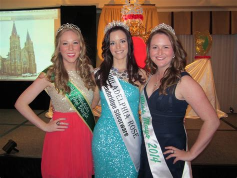 2014 Philadelphia Rose of Tralee Selection at The Radnor