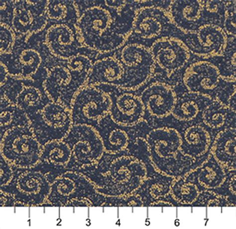 blue and gold upholstery fabric navy blue and gold abstract scroll or swirl pattern damask