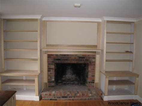 Plans For Building A Book Shelf Around A Fireplace Book Shelves Next To Fireplace