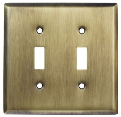 bronze light switch covers double light switch wallplate wall plate outlet cover