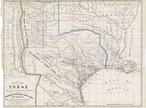 texas land map mapping texas from frontier to the lone state map of texas shewing the grants in possession
