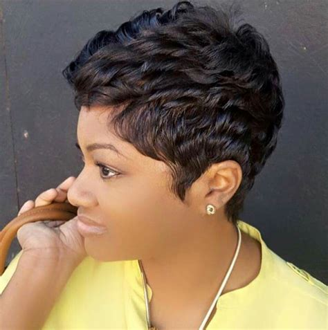 hairstyles by the river salon like the river salon in atlanta shared a pixie hairstyle