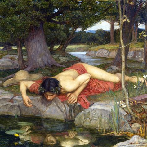 image gallery narcissus painting