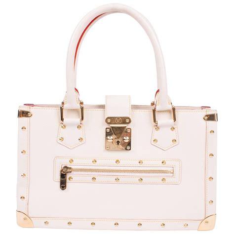Sale Top White Lv 438 louis vuitton suhali le fabuleux blanc leather white