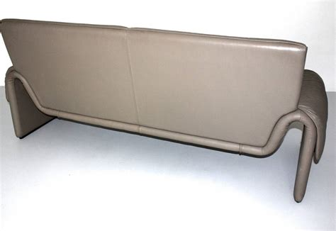vintage leather bench grey vintage leather bench de sede 1980s for sale at 1stdibs