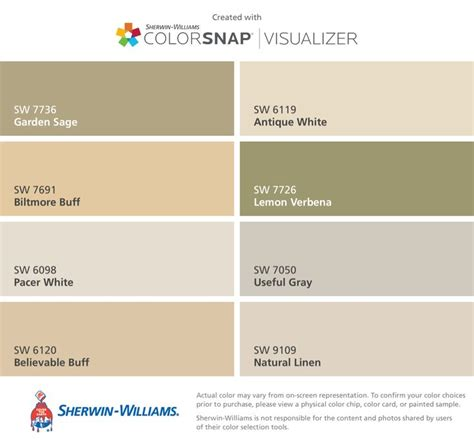 i found these colors with colorsnap 174 visualizer for iphone by sherwin williams garden sw