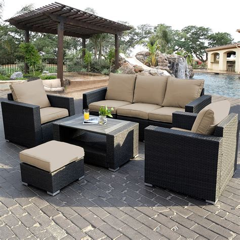 wicker outdoor furniture patio outdoor patio sofa home interior design