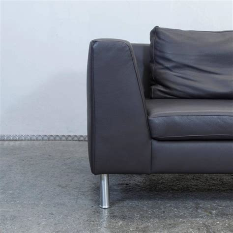 Ewald Schillig by Ewald Schillig Back Three Seat Leather Sofa For Sale At