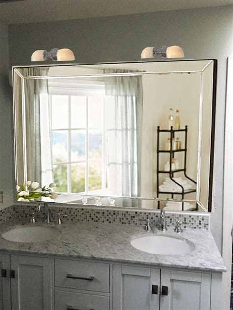 double wide bathroom mirror make your bathroom instantly look bigger with 16 amazing