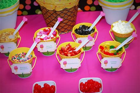ice cream bar toppings simply creative insanity bring on summer ice cream social