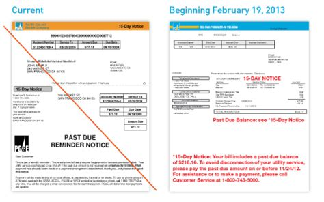 Pg E Letter Of Credit January 2013 Bill Inserts