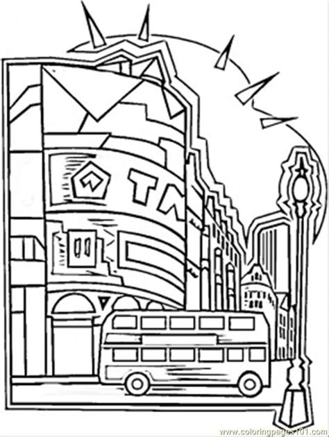 center of london coloring page free great britain
