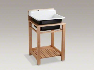 kohler bayview wood stand utility kohler bayview and wood stand modern vacation