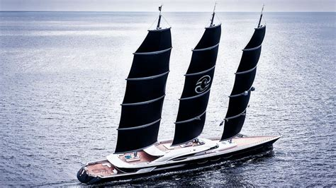 sailing yacht a boat international the 106 7 metre oceanco sailing yacht black pearl has been