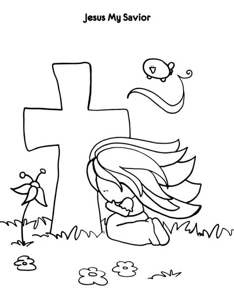 jesus is my friend coloring page az coloring pages