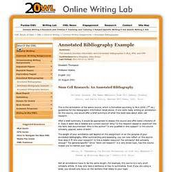 annotated bibliography pearltrees