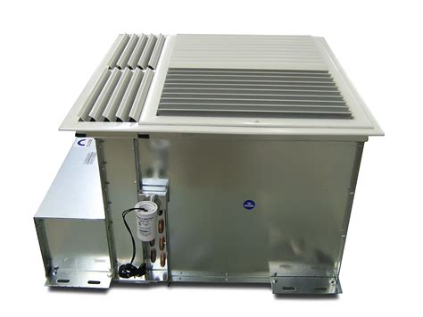 ceiling induction chilled beam unit