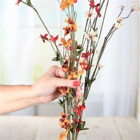 artificial stems and sprays autumn woodland artificial dogwood sprays picks and stems floral supplies craft supplies