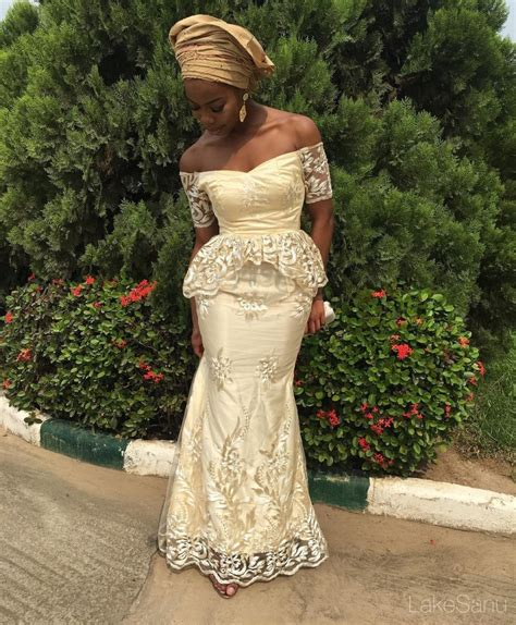 asoebi dress with cord lace top ten breathtaking cord lace aso ebi styles dabonke