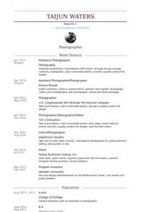 Photographer Resume Sample Freelance Photographer Resume Samples Visualcv Resume