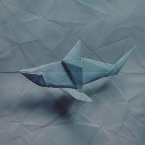 How To Make A Paper Shark Step By Step - shark origami