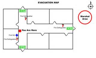 Emergency Exit Floor Plan Template by How To Create An Emergency Evacuation Map For Your