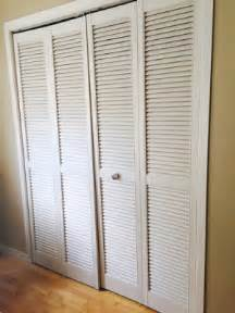 How To Paint Louvered Closet Doors Designing Home What To Do With Louvered Doors