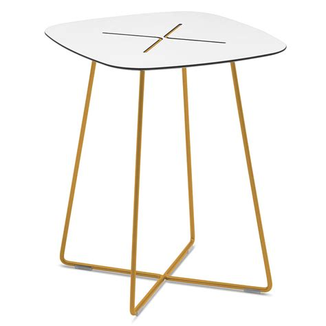 Collectic Home by Craig Tall Modern Mustard End Table Eurway Furniture