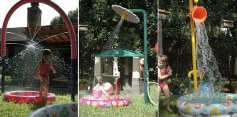 backyard splash pad diy diy splash pad 7 genius hacks splash pad water fun and