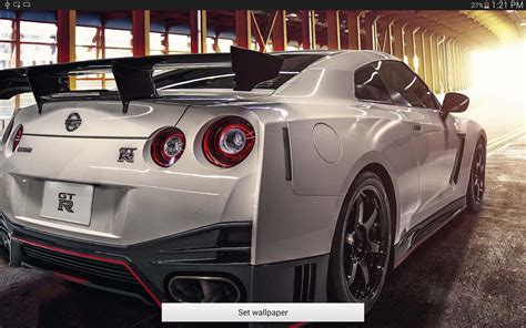 Nissan Gtr Live Wallpaper by Gt R Nismo Live Wallpaper Android Apps On Play