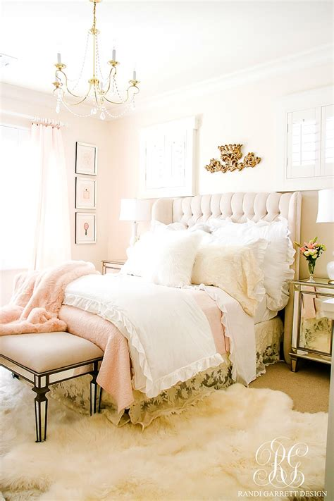 Home Decor Trends Spring 2017 Blush Pink Lace Bedroom Makeover Easy Tips To Refresh